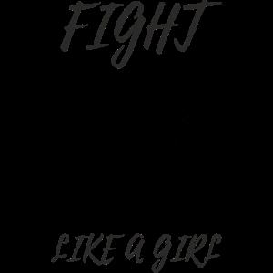 Kämpfen wie ein Mädchen