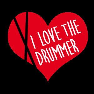 Ich liebe den Schlagzeuger - I love the drummer
