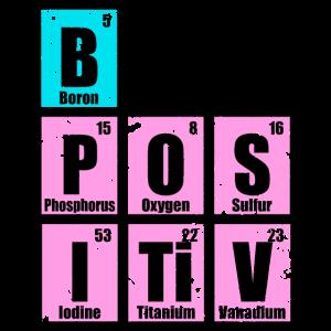 be positive elemente chemie