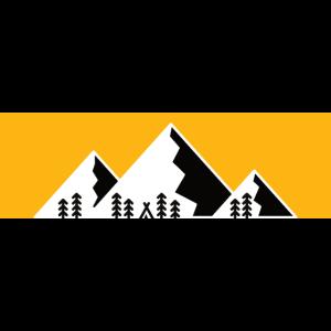 Berge Alpen Mountain Wandern Bergshirt
