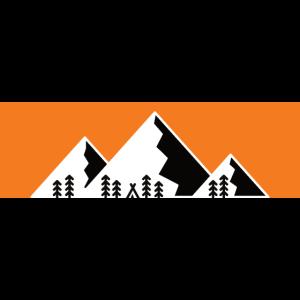 Camping Berge Wandern Mountain