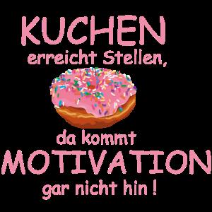 Kuchen motiviert