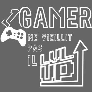 Gameur Manette Blanc