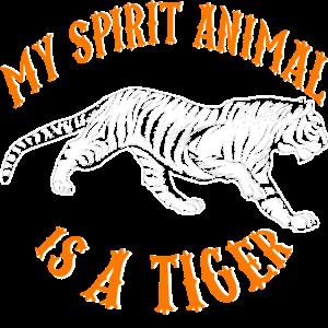 tiger spirit animal wald geschenk urwald spirit