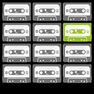 Multiple Retro Kassetten
