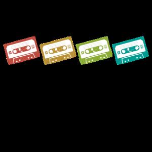 Kassetten Farben