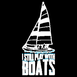 Ich spiele immer noch mit dem Boot Geschenk