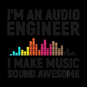 I'm an Audio Engineer I make Music Sound Awesome