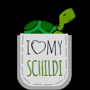 I Love my Schildi - Ich liebe meine Schildkröte <3