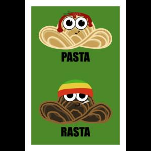 Pasta Rasta - Mit Basilikum und Oregano