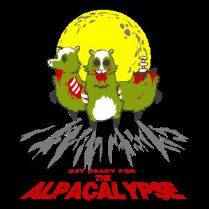 Get Ready For The Alpacalypse-Alpaka Zombie Lustig