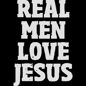 Real Men Love Jesus cooles Geschenk für Christen