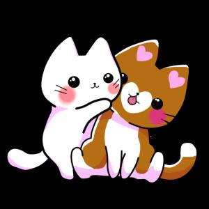 Kätzchen Umarmung