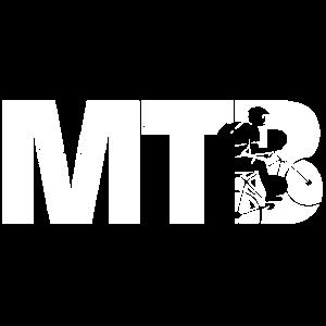 Mountainbike MTB Silhouette