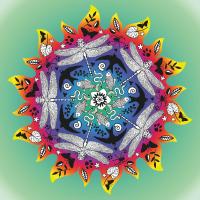 Sonne Mandala Poster
