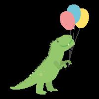 T Rex Ballons