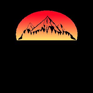 Berge Sonnenuntergang