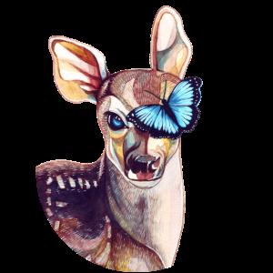 Reh & Schmetterling – Tribut zu Life is Strange
