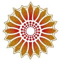 Sonnenblume - Folge dem Licht!, digital glitter, Symbol für Lebenskraft, Wärme und Zuversicht, Energie Symbol, Anti Atomkraft Symbol