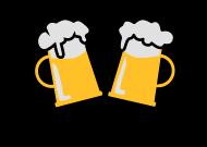 Oktoberfest & Wiesn Shirt: Prost 2 Mass Bier Bierkruege 01 3c
