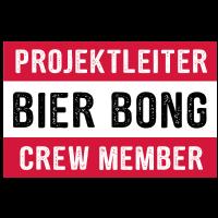 Projektleiter Bier Bong Crew Member Mallorca Party