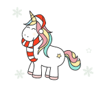 all i want for christmas unicorn