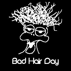 Bad Hair Day Harre Frisör Barber Shirt