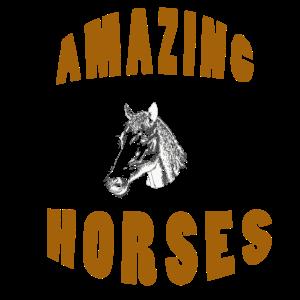 Amazing Horses Portraet