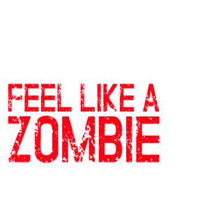 Kater Festival Verkatert Zombie Untoter Geschenk