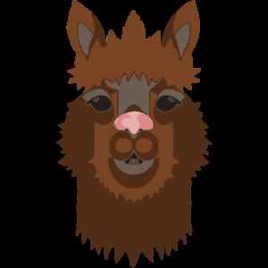 Alpaka dunkelbraun