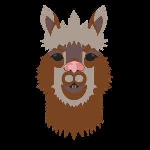 Alpaka hellbraun