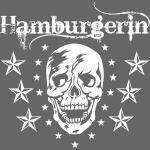 73 Hamburgerin Totenkopf Skull