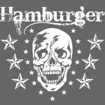 74 Hamburger Totenkopf Skull