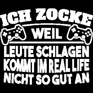 Gaming Shirt - Ich zocke