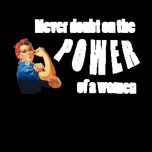 Never doubt Women power