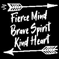 Hiking Shirt - Fierce Mind Brave