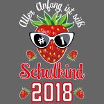 02 Schulkind 2018 Erdbeere Aller Anfang ist süß