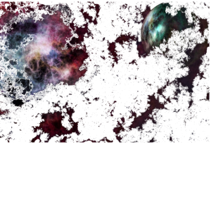 Universum Planet Wolke Bunt Sterne
