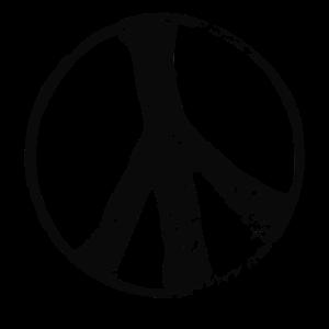 Hippie Bewegung (Schwarz)