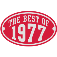 THE BEST OF 1977 2C Birthday Anniversaire Geburtstag