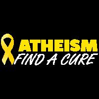 Atheismus heilung aids sarkastisch provokant