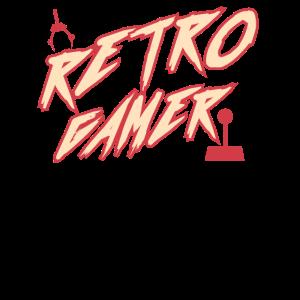 Retro Gamer Zocker Geschenk Hobby Videospiele PC