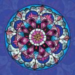 """SoulArt Mandala """"Lotosabend"""""""