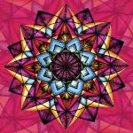 """SoulArt Mandala """"Zentrierung"""""""