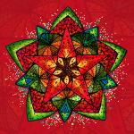 """SoulArt Mandala """"Sternenfest"""""""