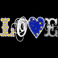 Love Europe White