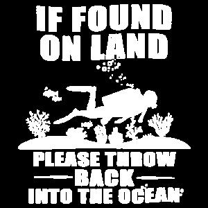 Lustiges Sporttauchen-T-Shirt