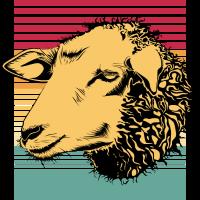 Schaf Sheep Vintage