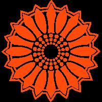 Sonnenblume - Folge dem Licht!, c, Symbol für Lebenskraft, Wärme und Zuversicht, Energie Symbol, Anti Atomkraft Symbol