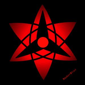 Sharingan Symbol rot
